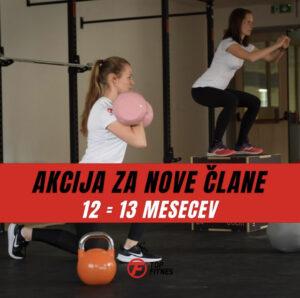 Akcija za nove člane Top Fitnes